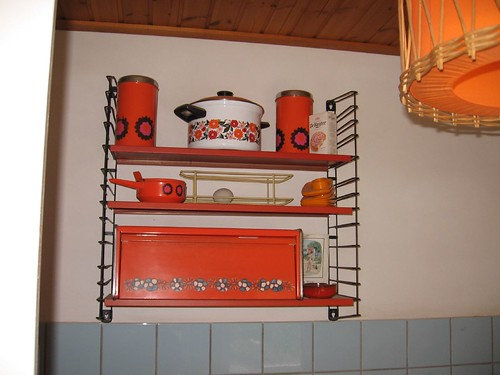 1970's Kitchen rack