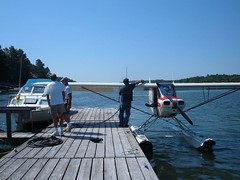 Airplane at Eddy Marina