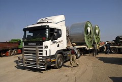 TRUCKING IN SOUTH AFRICA (Claude  BARUTEL) Tags: africa truck south transport scania