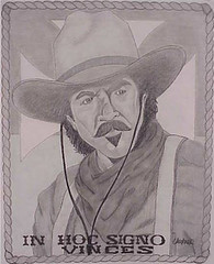 Cowboy Tom Selleck - In Pencil