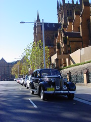 1938 Buick 90L - St Andrews, Sydney (asiaoverland2000) Tags: car st vintage buick andrews cathedral 1938 sydney l limited 90 wilhelmina