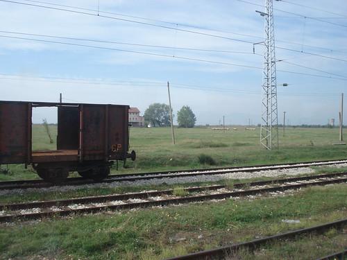 Landschaft auf dem Weg zur Donau
