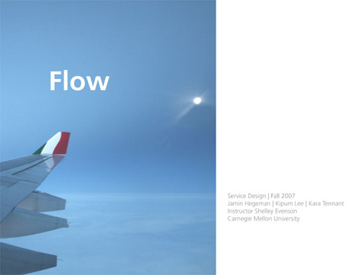 Flow presentation cover
