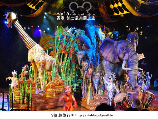 【香港自由行】跟著via玩香港(1)~爆走香港迪士尼樂園47