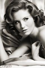 (Allyeska) Tags: marilyn vintage model lingerie hollywood monroe siren pinup emj emmaw strobist