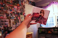 speak now. (maddiexlove) Tags: new love wall contrast canon out rebel photo maddie bedroom flickr purple cd room it just taylor tuesday swift editing 365 monday now came speak t1i maddiexlove maddiexhipster xoxomaddiie
