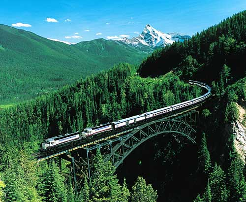 Rocky Mountaineer Luxury Train