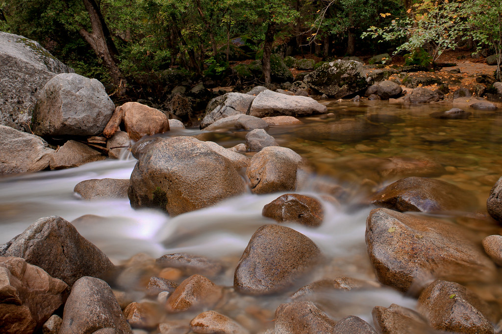 Happy Isles Rocks at Yosemite