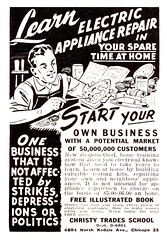 Learn Electric Appliance Repair 1956 Ad