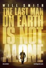 Poster Soy Leyenda I am Legend Will Smith