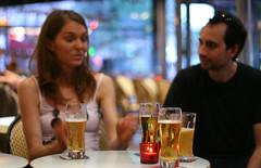 Evening drink (j.d.ripper (Nigel)) Tags: paris france beer café explorer bastille explored 1on1peoplephotooftheday 1on1peoplephotoofthedayjune2007