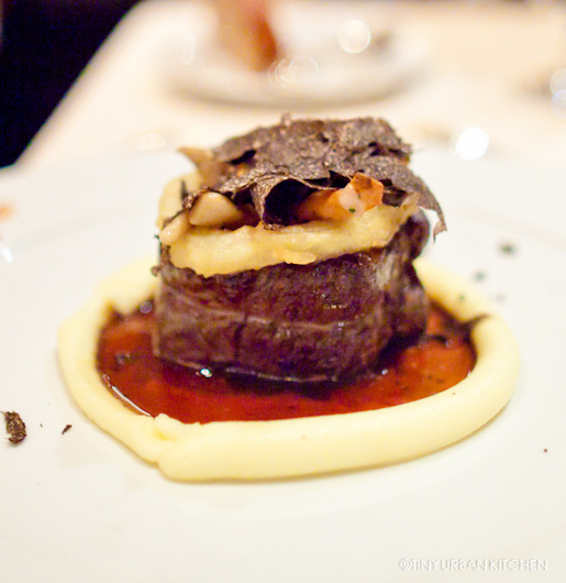 Wagyu Beef with Black Truffles