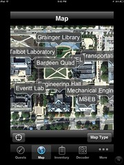 Map of engineering quad