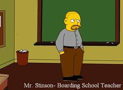 Mr. S, Boarding School Teacher