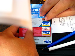 Credit card fever... tonight!