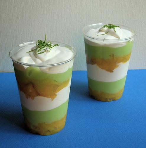 Desert Candy حلويات الصحراء: Coconut-Mango-Lime Parfaits