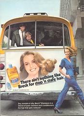 Breck Shampoo 1980 (twitchery) Tags: vintage hair shampoo 70s vintageads vintagebeauty