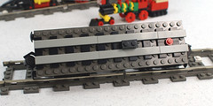 Mini Me Flatcar (SavaTheAggie) Tags: train lego mini american micro 440 9v lgauge