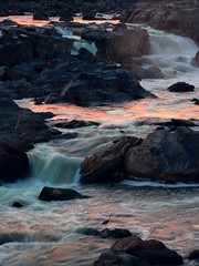 Sunset on Great Falls