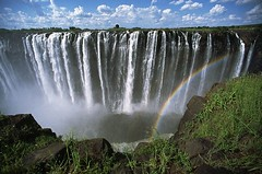 victoria_fall (Zest-pk) Tags: africa travel river photography waterfall rainbow colorphotography nobody victoriafalls runningwater powerful landforms naturalworld marinescenes southernafrica zambesiriver zambeziriver