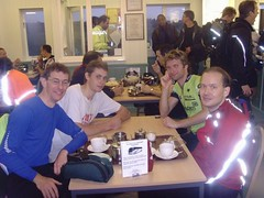 Four cyclists of the apocalypse, Dunwich, Dunwich Dynamo, 29 July 2007