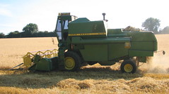 Combine Harvester (Flight Fantastic) Tags: field farm straw norwich farmer combineharvester marriotsway
