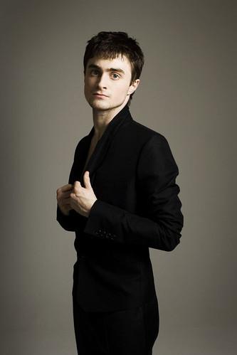 Daniel Radcliffe de perfil