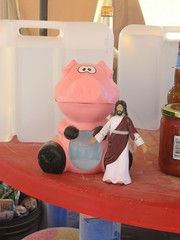 Jesus and the Passion Pig