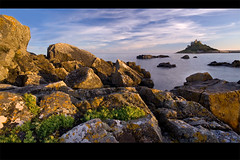 St Michaels Mount II (jasontheaker) Tags: ocean sunset sea rocks cornwall atlantic landscapephotography specland jasontheaker stmichaelsmount