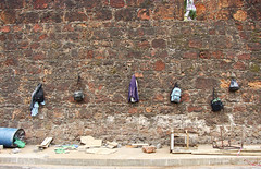 Six bags on the wall