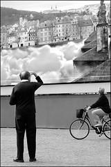 Torino 0020 (malko59) Tags: street people urban blackandwhite italy bicycle torino turin biancoenero italians decisivemoment blueribbonwinner bwemotions italybw diecicento focuslegacy malko59 marcopetrino