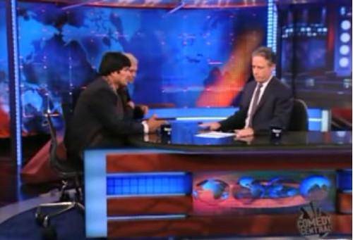 Evo Morales Comedy Central