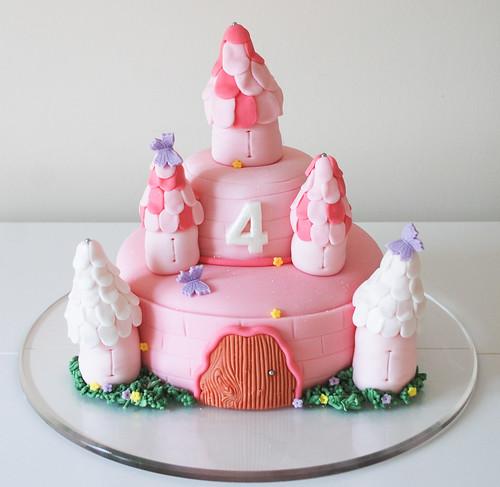 Castle Cake Toppers For Birthdays. princess castle birthday cake
