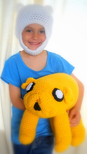 Crocheted Finn Hat & Jake