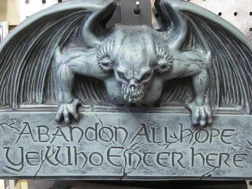 Gargoyle Sign