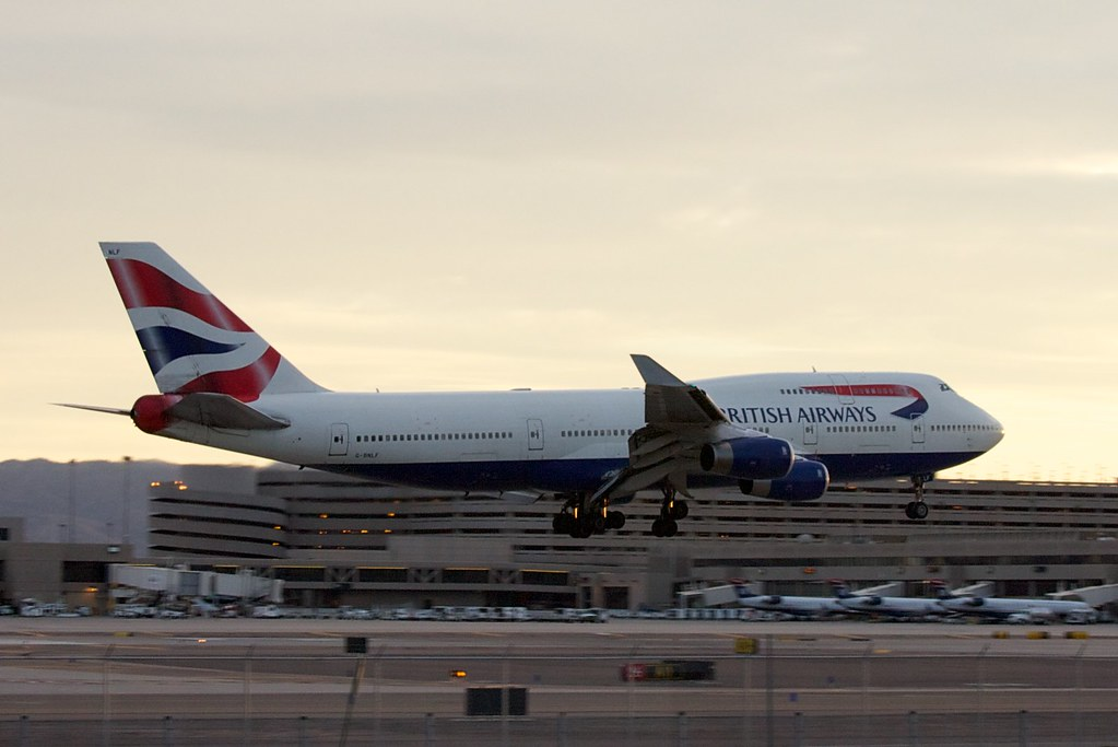British Airways flight 289