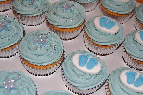 Boy S Christening Cupcakes Beautiful Birthday Cakes