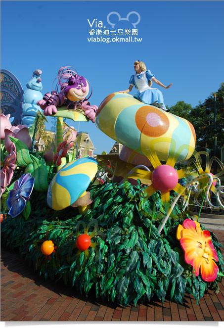 【香港迪士尼】跟著via玩香港(3)~迪士尼卡通人物歡樂巡遊26