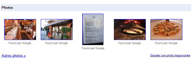 Google Photographe