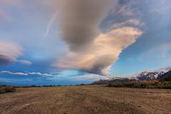 Road to a Sierra Sky (matthewkaz) Tags: california road sky cloud mountains clouds highdesert dirtroad mammothlakes sierranevada lenticularcloud lenticular 2010 easternsierra convictlake lenticularclouds