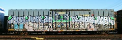 Hope & Happy Birthday Veronica (quiet-silence) Tags: railroad art train hope graffiti ipc veronica railcar boxcar graff freight goldenwest fr8 hope4 asoe babyridge