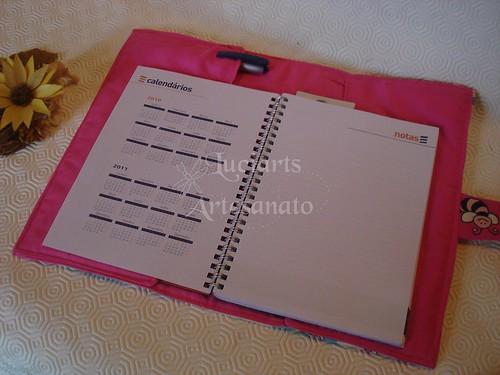 Capa para agenda A5 ou livro «Jardim da Bicharada»