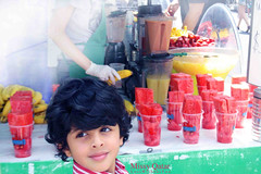 Summer fruits (Missy | Qatar) Tags: nyc summer green fruits smile strawberry market lexington sunday watermelon flea avenue mubarak 56th kooki alkhater