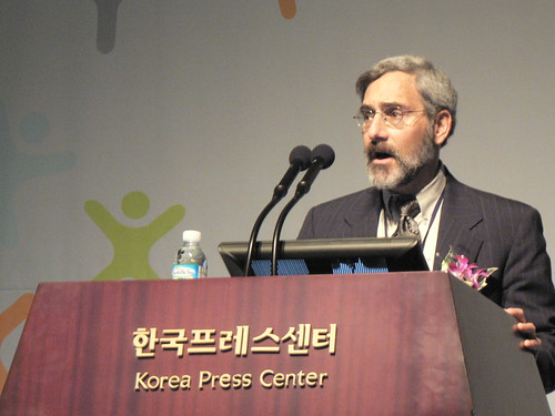 George Barnett speaks at the NIA Digital Culture Conference, Seoul, Korea