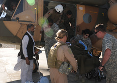 Afghan Air Force take child home (NATO Training Mission-Afghanistan) Tags: afghanistan kabul kaia