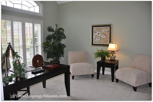 Home Staging Atlanta Office After