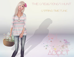 -[AddiCt]-Spring Time Tunic/The Seasons Hunt April 16th-April 30th (Kianna Noel) Tags: spring sl secondlife addict tunic kiannanoel theseasonshunt