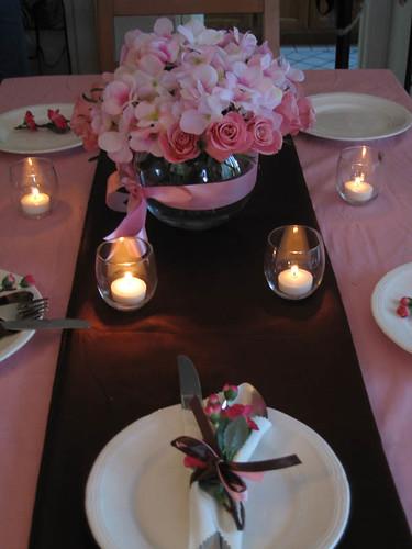 576029658 0c9ab3e31a d Baú de ideias: Decoração de casamento rosa e marrom I
