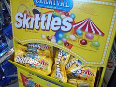 Carnival Skittles Display