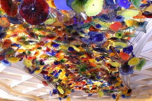 Bellagio Lobby ceiling